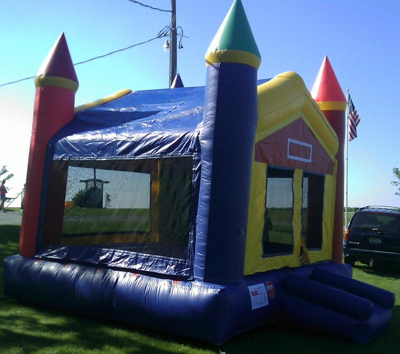 15x15x15 Rainbow Castle, Bounce House, Rental, Fun, Parties, Events, Fundraisers