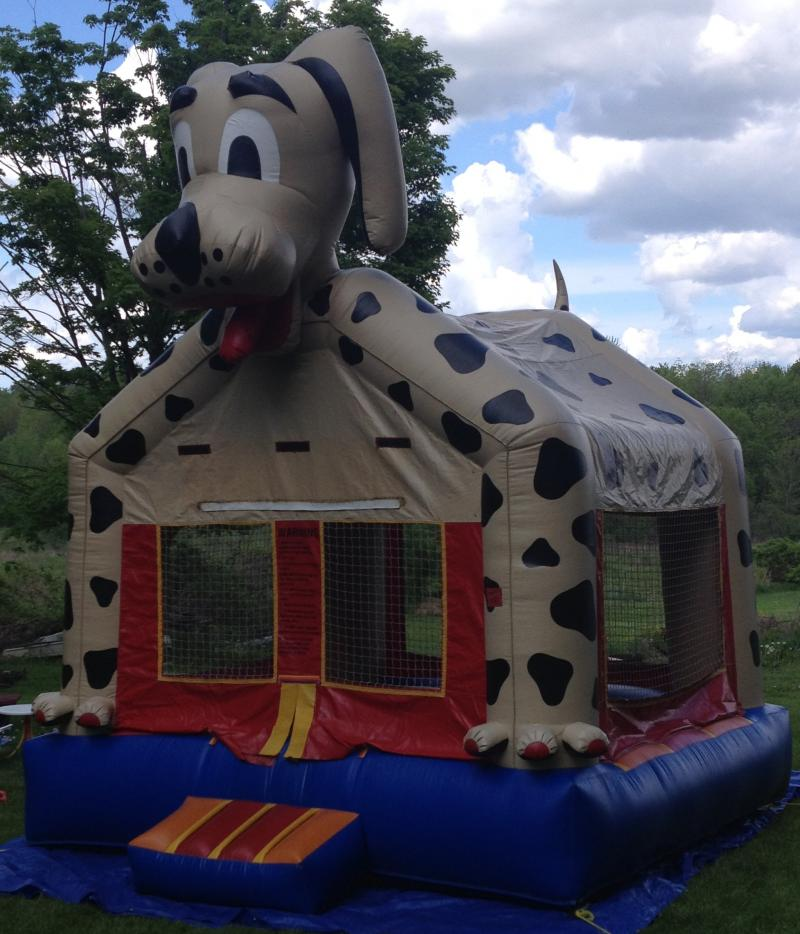 Dog Bounce House 13x13x15, Parties, Rentals, Events, Bounce House, Inflatble